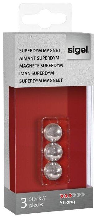 """Магниты для доски sigel SuperDym magnets C5 """"Strong"""" GL702"""