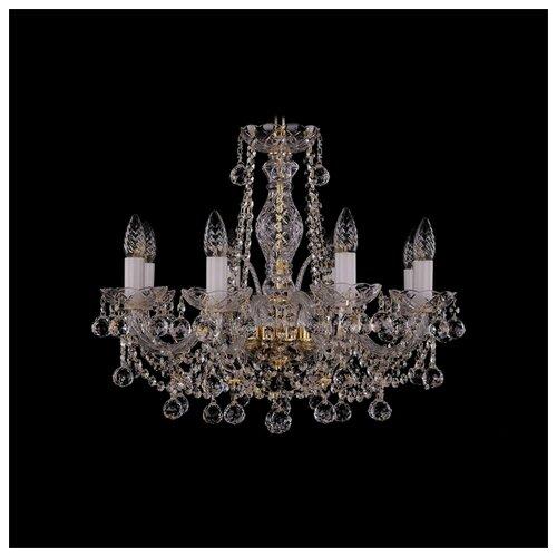 Люстра Bohemia Ivele Crystal 1411 1411/8/195/G/Balls, E14, 320 Вт bohemia ivele crystal подвесная люстра 1411 12 380 72 g