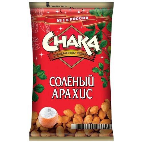 Арахис CHAKA соленый флоу-пак 130 г