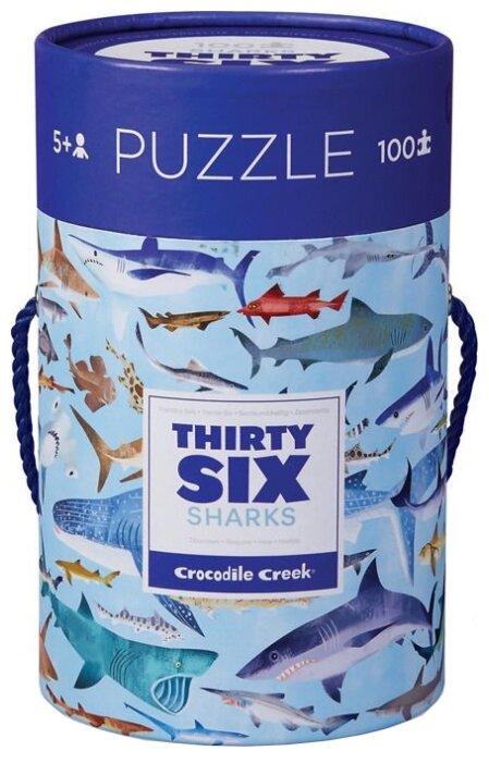 Пазл Crocodile Creek 36 Животных Акулы (4054-8), 100 дет.