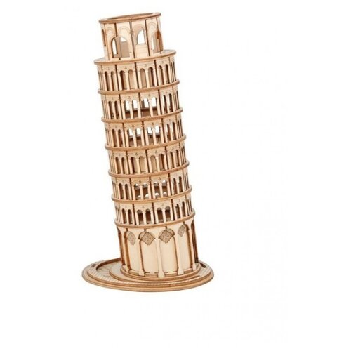 Купить 3D деревянный конструктор Robotime Пизанская башня, Сборные модели