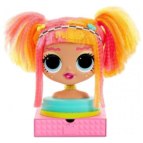 Купить Кукла MGA Entertainment LOL Surprise OMG Styling Head Neonlicious, 565963, Куклы и пупсы