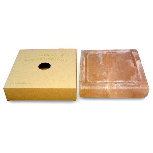 Соляная плитка Wonder Life WL-B4-20F-1-Box (20х20х4 см)