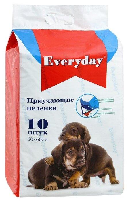 Пеленки для щенков впитывающие Everyday Гелевые 60х60