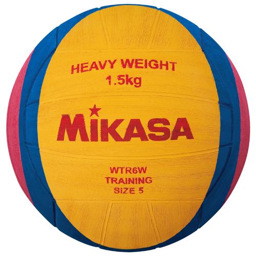 Мяч для водного поло Mikasa WTR6W желтый/синий/розовый