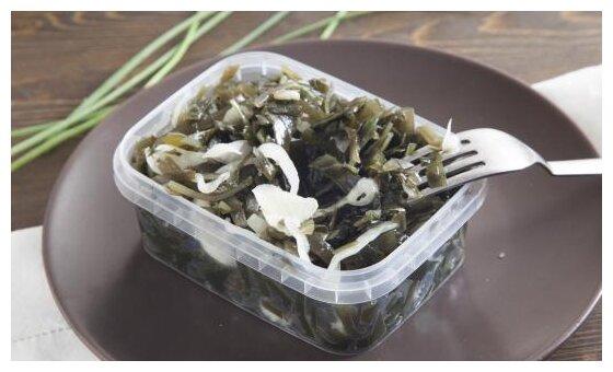 ВкусВилл салат из морской капусты с луком