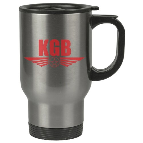 Автомобильная термокружка KGB