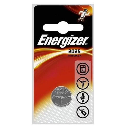 Фото - Батарейка Energizer CR2025, 1 шт. батарейка energizer max plus aa 4 шт