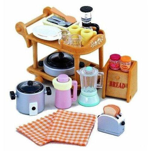 Купить Игровой набор Sylvanian Families кухонной посуды 2819, Игровые наборы и фигурки