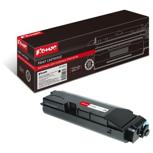 Фото - Картридж лазерный Комус TK-6305 черный, для Kyocera TASKalfa3500i/450 картридж лазерный комус tk 580k черный для kyocera fs c5150dn