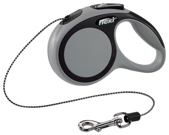 Поводок-рулетка для собак Flexi New Comfort XS тросовый