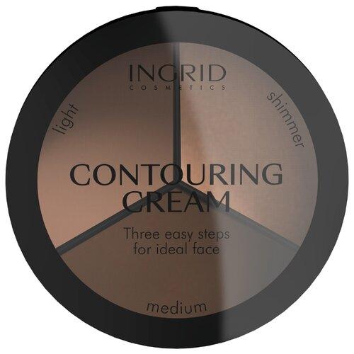 Ingrid Cosmetics Палетка для контурирования лица Ideal Face Contouring Cream medium недорого