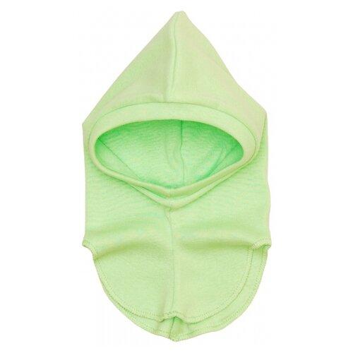 Купить Шапка-шлем Чудесные одежки размер 48, салатовый, Головные уборы