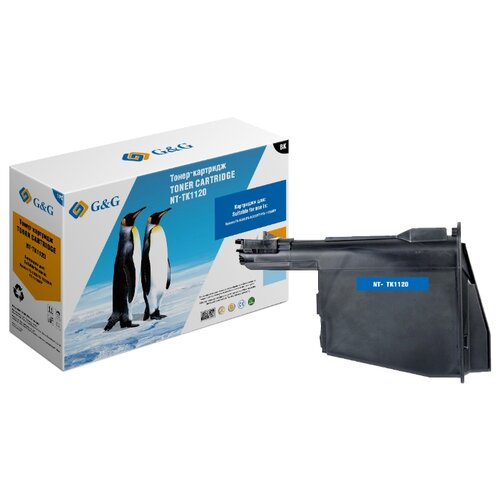 Фото - Картридж лазерный G&G NT-TK1120 черный (3000стр.) для Kyocera FS-1025MFP/1060/1125MFP площадка giotto s g mh601 90мм для адаптера g mh621