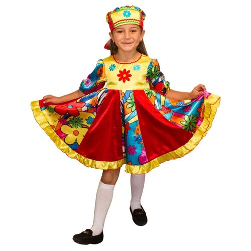 Купить Костюм Elite CLASSIC Кадриль, красный, размер 32 (128), Карнавальные костюмы