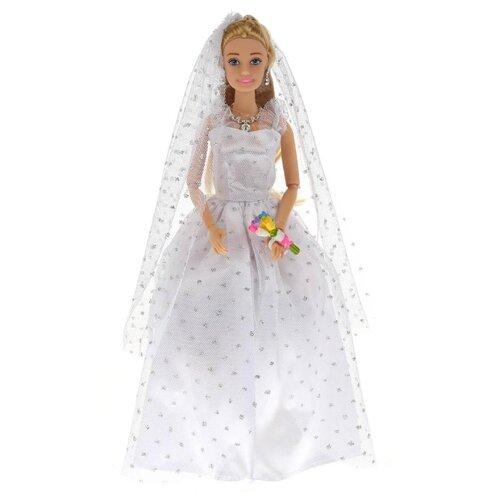 Фото - Кукла Карапуз София в свадебном платье, 29 см, 99074-S-AN кукла карапуз софия повар 29 см