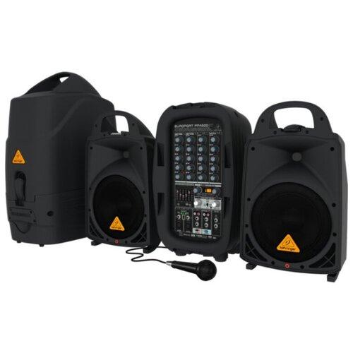 Напольная акустическая система BEHRINGER PPA500BT черный