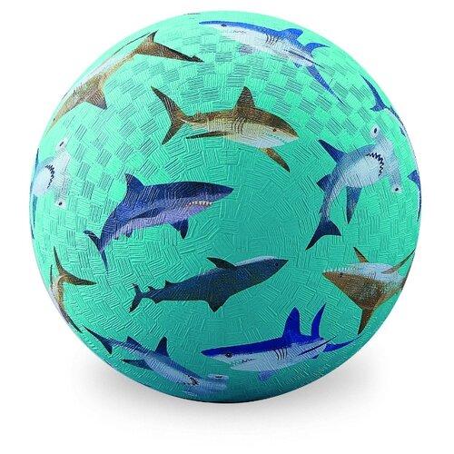 Мяч Crocodile Creek Акулы голубой crocodile crocodile cr215f yellow