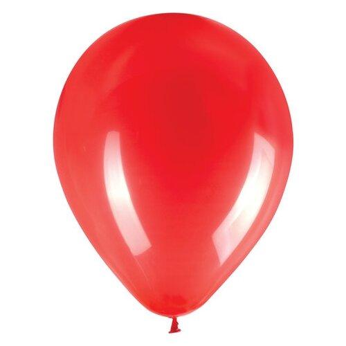 Набор воздушных шаров Золотая сказка Латекс 104998/104999/105000 (50 шт.) красный