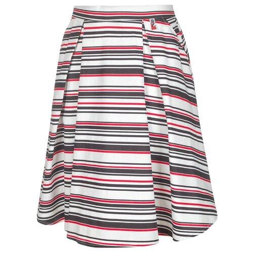 Юбка Nota Bene размер 140, белый/черный/красный платье oodji ultra цвет красный белый 14001071 13 46148 4512s размер xs 42 170