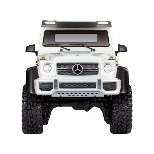 Купить Внедорожник Traxxas Mercedes-Benz G 63 AMG 6x6 (88096-4) 1:10 65.1 см белый, Радиоуправляемые игрушки