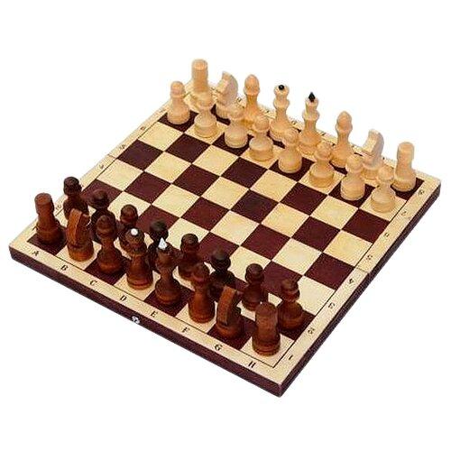 Фото - ОРЛОВСКАЯ ЛАДЬЯ шахматы обиходные парафинированные с темной доской P-12 настольные игры орловская ладья русское лото l24042