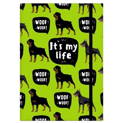 Записная книжка Феникс+ Это моя жизнь (47852), 96 листов, ротвейлер