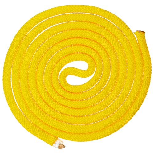 термонаклейка череп желтый 11 34885 sm 03 Гимнастическая скакалка утяжелённая Indigo SM-121 желтый 250 см