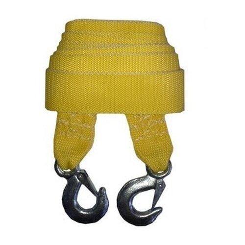 Ленточный буксировочный трос Сигма 9164916 5 м (2.5 т) желтый