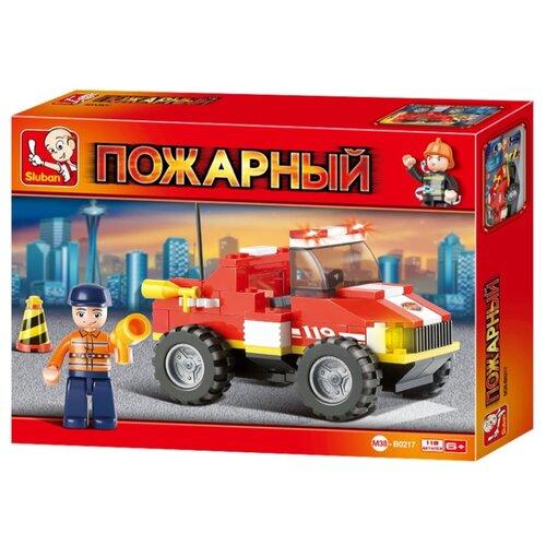 цена на Конструктор SLUBAN Пожарные спасатели M38-B0217