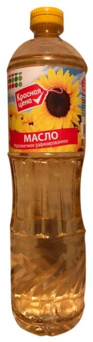 Красная цена Масло подсолнечное рафинированное дезодорированное