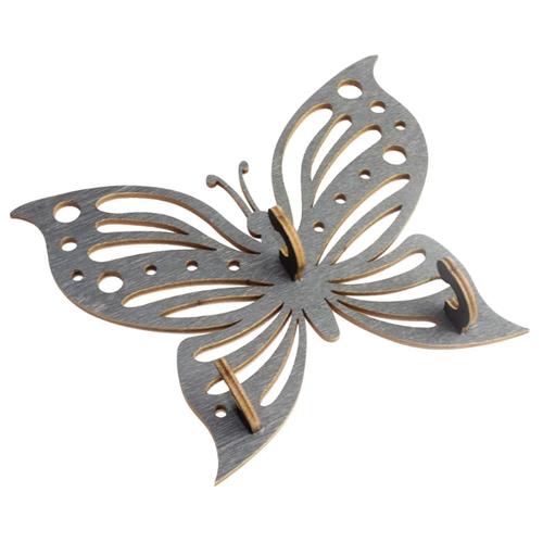 Ключница Florento 4860695 14х11.5 см серый