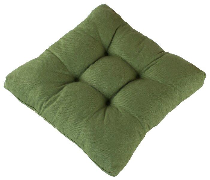 Подушка на стул Guten Morgen сидушка толстушка с пиковками 40х40 см