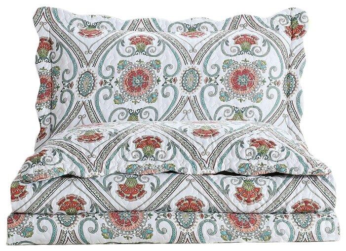 Комплект с покрывалом Arya Silvano 250 х 260 см + 2 наволочки 50 х 70+5 см