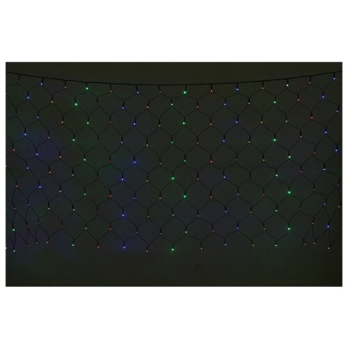 Электрическая LED-гирлянда, 160 лампочек, многоцветная