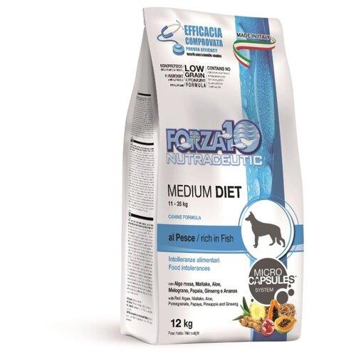 Сухой корм для собак Forza10 рыба 12 кг (для средних пород)