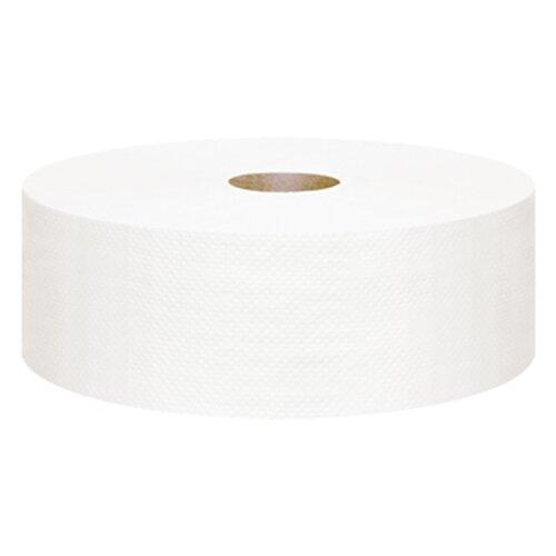 Туалетная бумага Focus Jumbo Eco 525 белая однослойная 5050777, 6 рул.