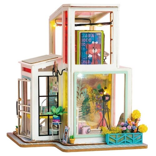 Сборная модель Rolife Румбокс Time Studio (TD01W) конструктор diy house time studio td01w