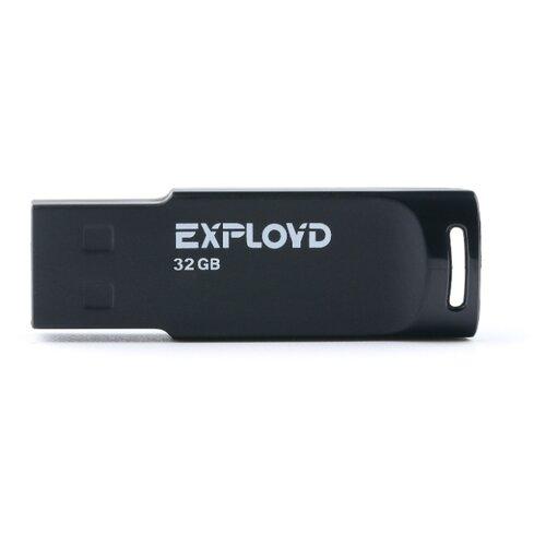 Фото - Флешка EXPLOYD 560 32GB 01 black флешка exployd 560 16gb red