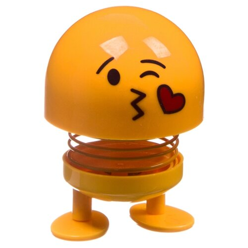 Купить Фигурка BONDIBON Чудики. Танцующий на пружинке Эмодзи-воздушный поцелуй ВВ4136, Игровые наборы и фигурки