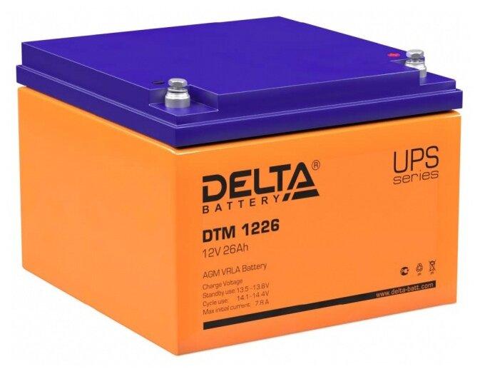 Аккумуляторная батарея DELTA Battery DTM 1226 26 А·ч