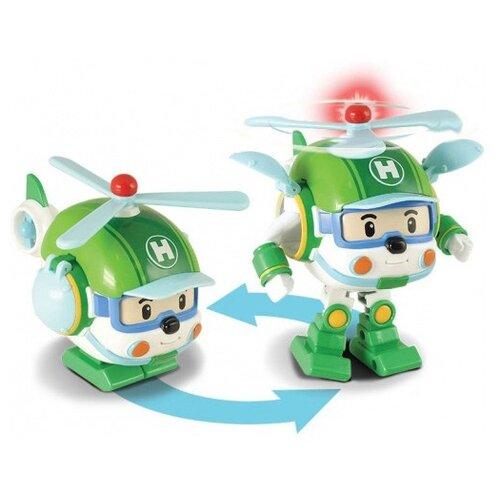 Купить Машинка Robocar Poli Silverlit Вертолетик Хэли трансформер со светом и инструментами, 12, 5 см, Helly (83096), Машинки и техника