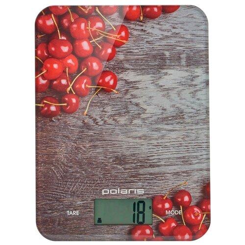 Фото - Кухонные весы Polaris PKS 1046DG серый/красный весы polaris pks 0539dmt