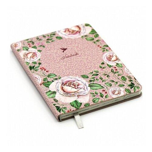 Купить Блокнот Канц-Эксмо Aquarelle. Розы А6+, 80 листов (КЗАК6802925), Блокноты