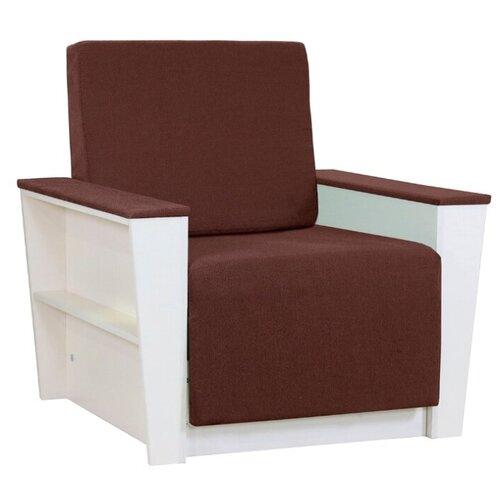 Кресло-кровать Шарм-Дизайн Бруно 2 размер: 88х90 см, , размер спального места: 190х61 см, обивка: ткань, цвет: коричневый