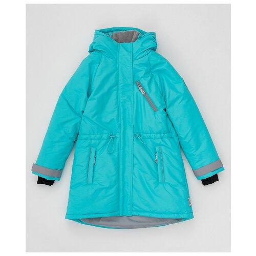 Купить Пальто Button Blue Active 220BBGA45021800 размер 128, голубой, Пальто и плащи