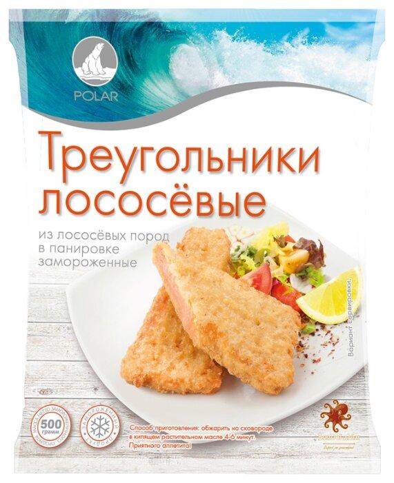 Polar Треугольники лососевые в панировке пакет 500 г