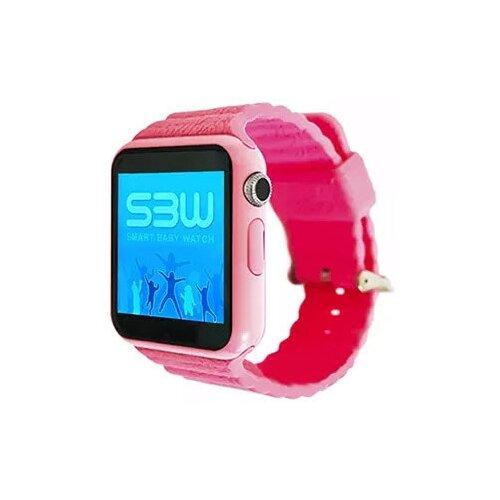 Детские умные часы Smart Baby Watch SBW 2, розовый детские умные часы c gps smart baby watch kt06 розовый