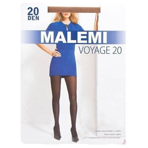 Колготки Malemi Voyage, 20 den, размер II, daino (бежевый) колготки malemi voyage 20 nero