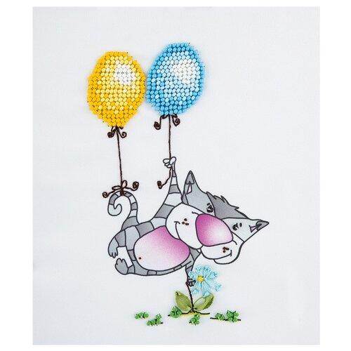 Купить PANNA Набор для вышивания бисером и лентами Лечу к тебе 12 х 15 см (BN-5022), Наборы для вышивания